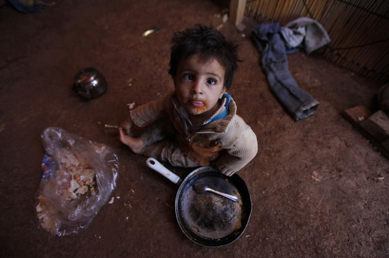 Syrian Children Facing the Worst of Two Fates, Death by War or Extreme Poverty