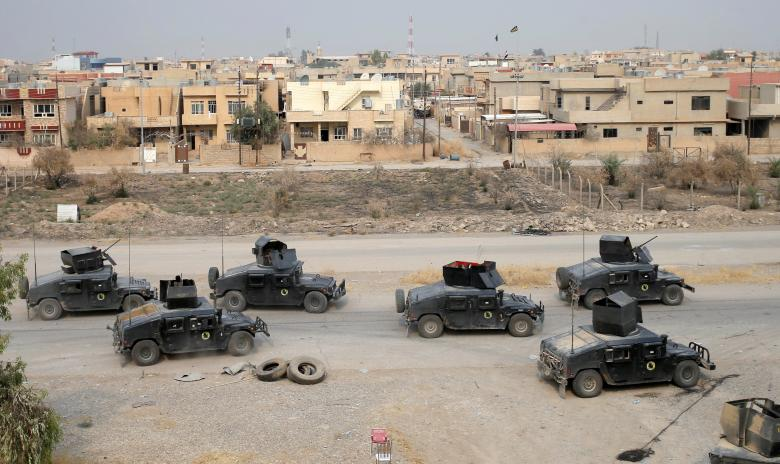 Street War Ravages in Mosul for the Eighth Day