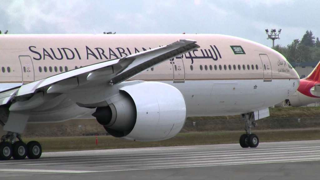Saudi Airlines Receives 10th Boeing B787-9 Aircraft