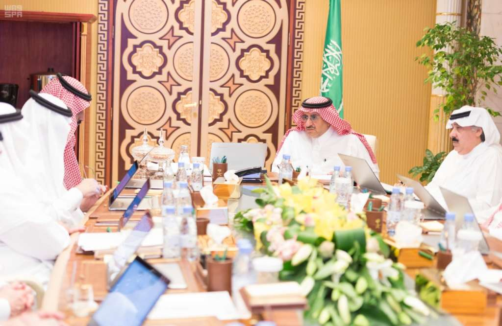 Saudi Crown Prince Chairs Political and Security Affairs Council