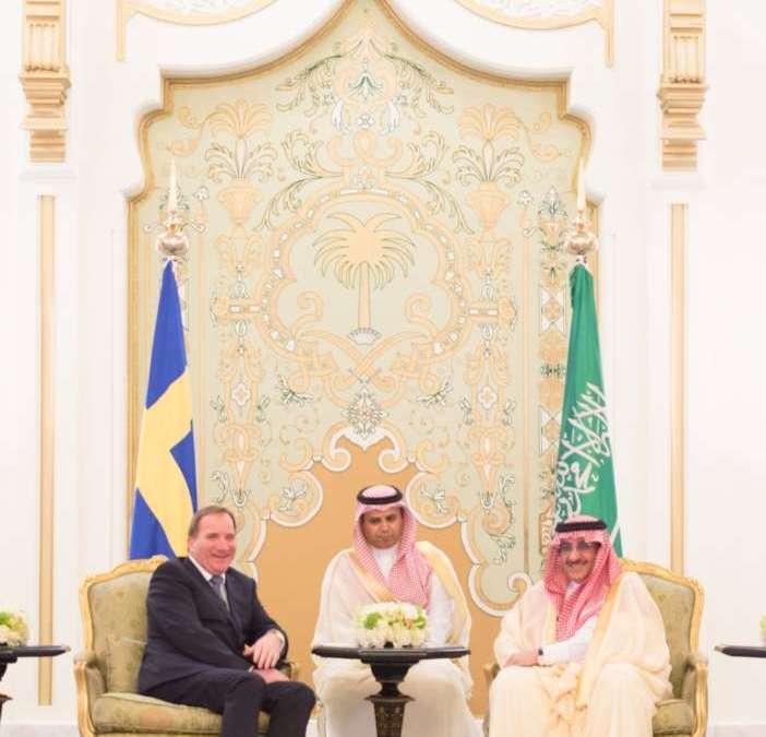 Swedish Premier Expresses Interest in Saudi Vision 2030