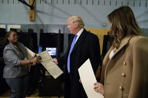 Trump Questions System Again, Sues Clark County Registrar of Voters