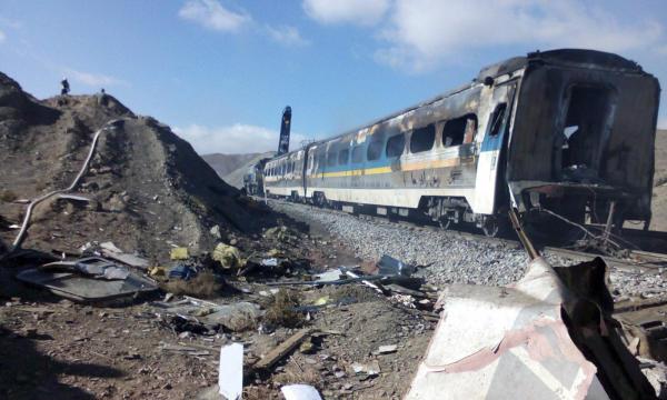 Passenger Trains Collide in Iran, 44 Killed