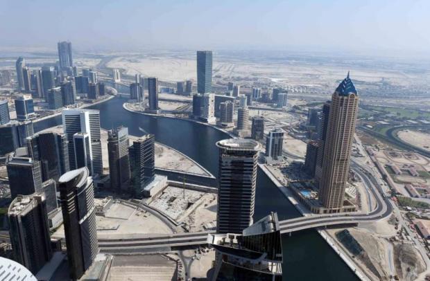 Dubai's Creek Linked with the Arabian Gulf