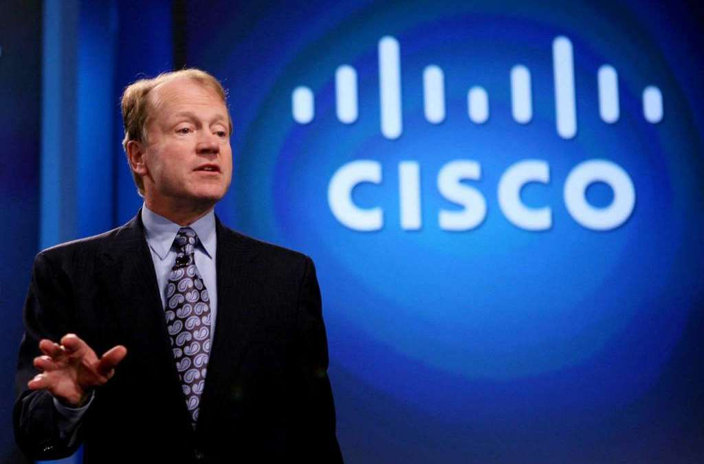 CISCO Executive Chairman: We Will Contribute to the Achievement of Saudi Vision 2030