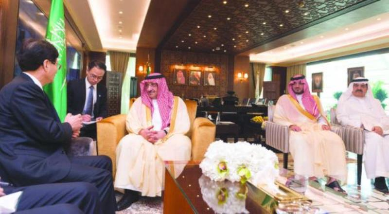 Crown Prince Discusses with Chinese Envoy Means to Combat Terrorism