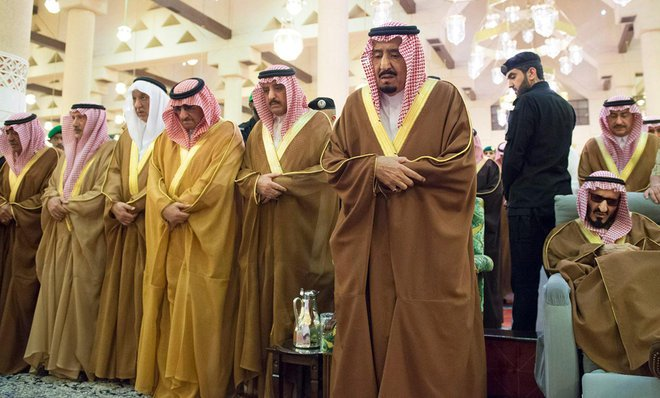 King Salman Receives Leaders Comforting on the Death of Late Prince Turki bin Abdulaziz
