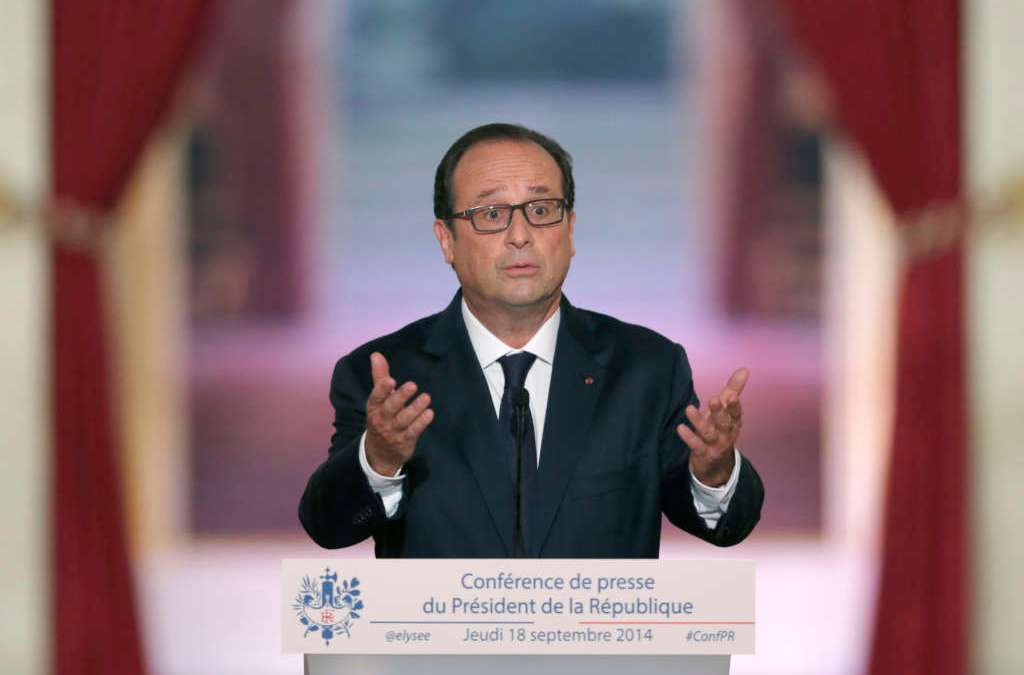 French Prosecutors Probe Hollande's Alleged Mishandling of Classified Docs
