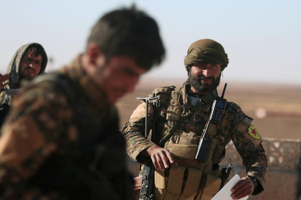 Battles Between SDF and ISIS Rage in Raqqa's Countryside