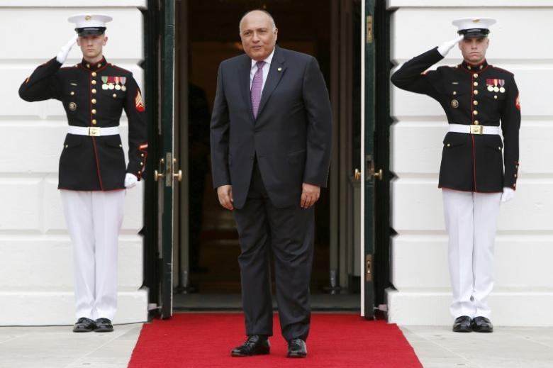 Egypt's FM in Washington to Meet with Kerry