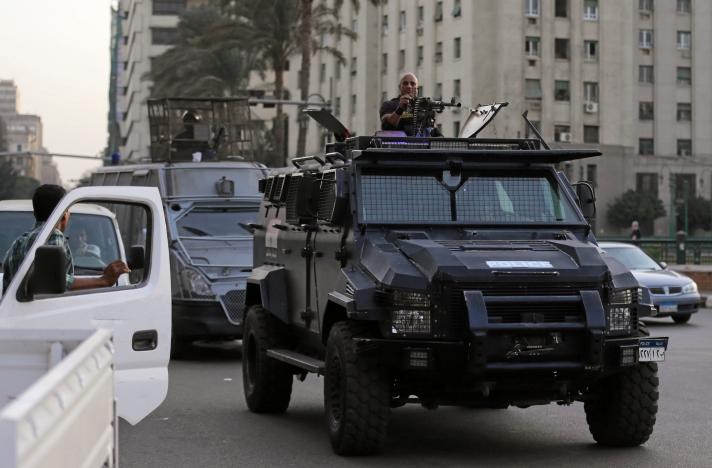 Nov. 11 in Egypt: Heavy Security Deployment, Absence of Demonstrators