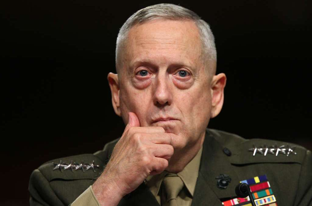 Priorities of Gen. Mattis: 'Number One Iran. Number Two Iran. Number Three Iran'