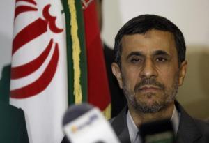 Iran's President Mahmoud Ahmadinejad visits Imam Ali shrine in Najaf