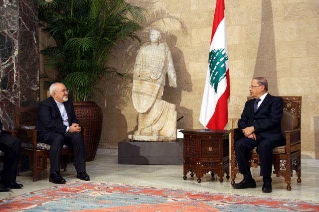 Zarif, Assad Delegation in Beirut to Congratulate Aoun…Iran Seeks 'Improving Relations'