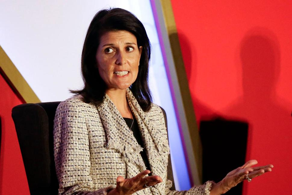 Nikki Haley, Daughter of Immigrants, Being Considered for Secretary of State