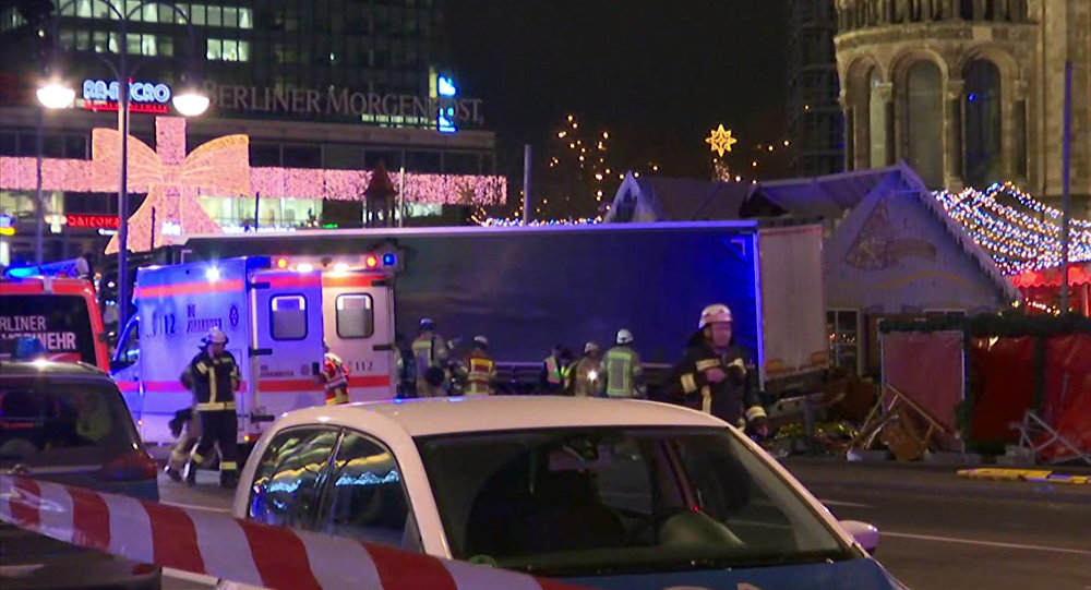 Berlin Attack Perpetrator Still at Large, Might Be Armed
