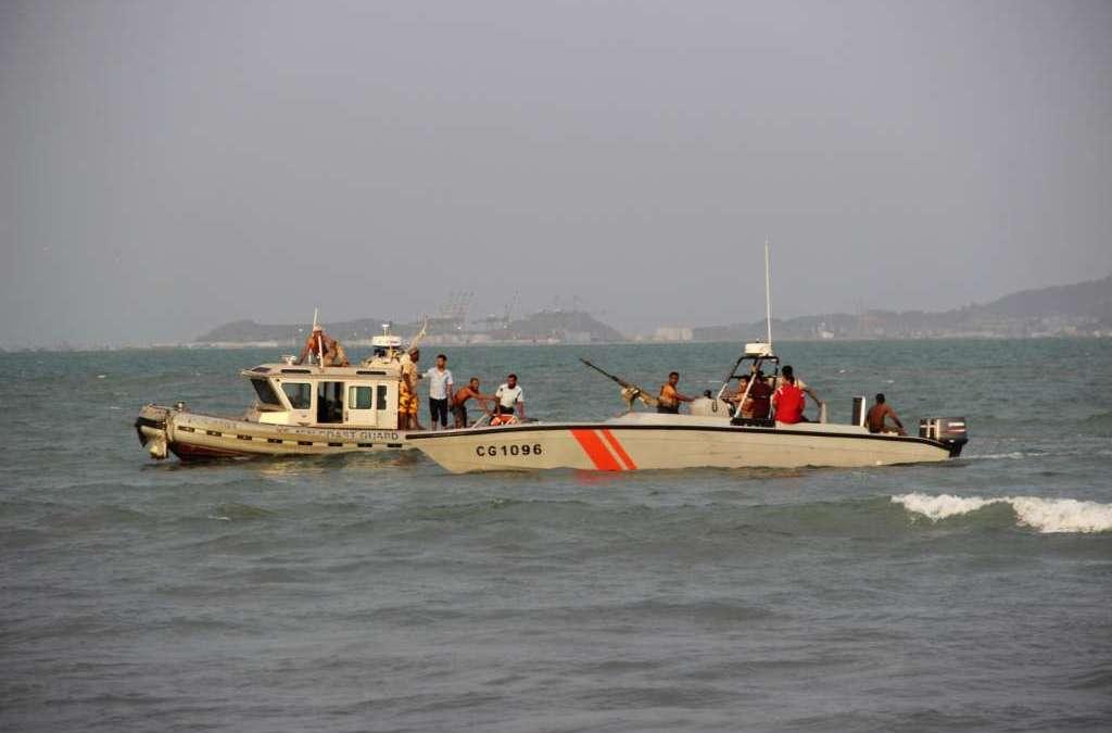35 Survivors from Sinking Cargo Ship off Socotra