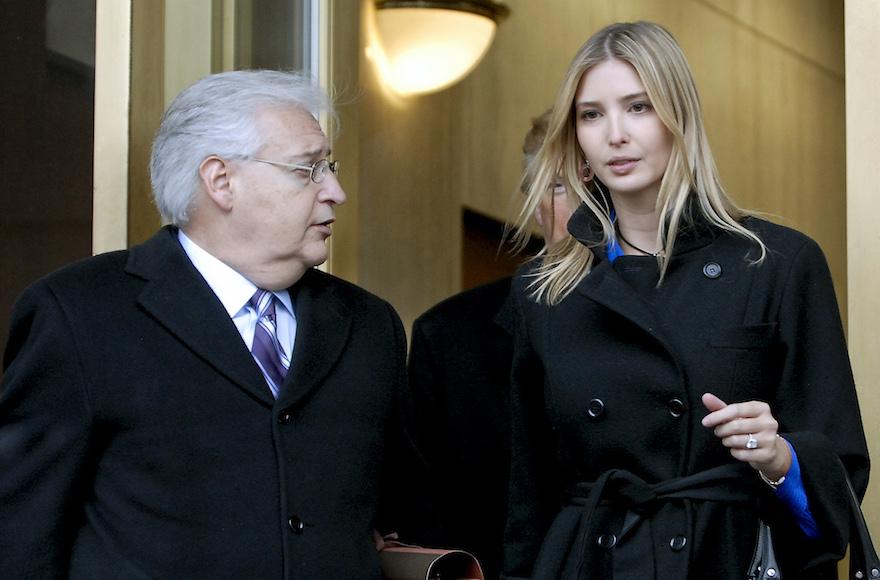Trump Nominates Campaign Adviser U.S. Ambassador to Israel