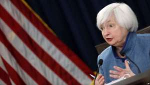 Federal Reserve Board Chair Janet Yellen answers a reporter's question during a news conference about the Federal Reserve's monetary policy, Dec. 14, 2016, in Washington. / AP