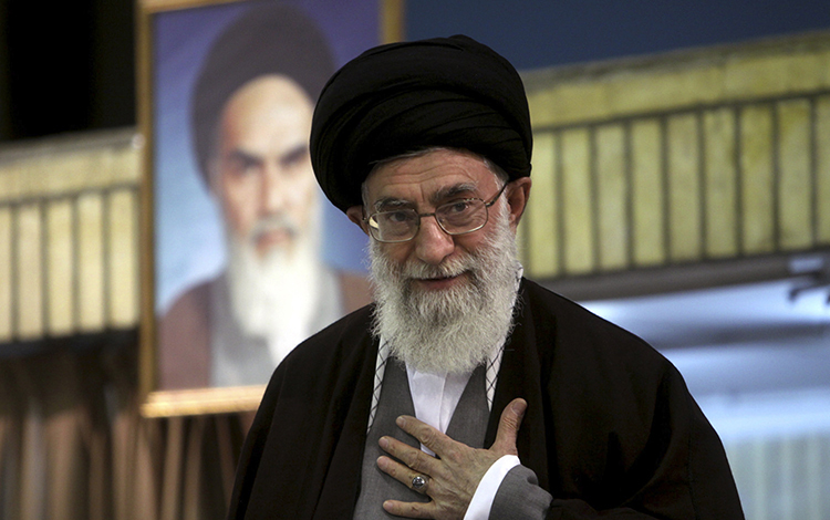 Khamenei Condemns UK Calling it 'Source of Evil'