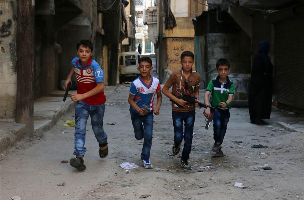 Nearly 20,000 Children Flee Aleppo