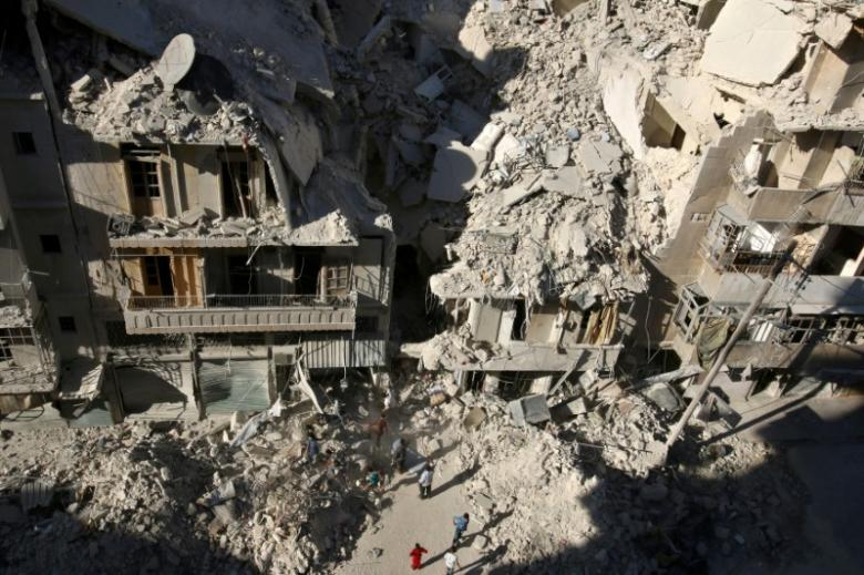 "Saudi Body Condemns ""Criminal Massacres"" in Aleppo"