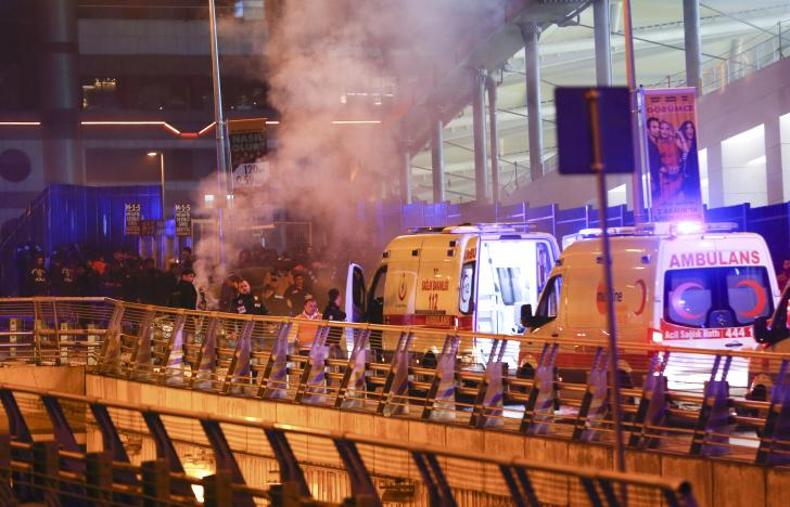 Terror Twin Bombing Outside Istanbul Soccer Stadium Kills Over 20
