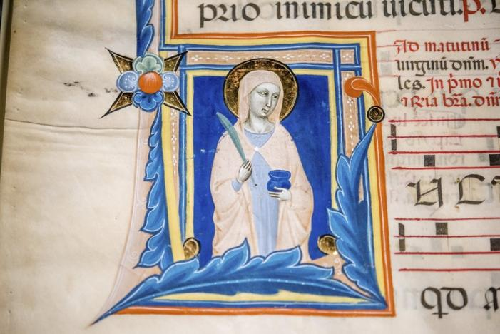 U.S. Customs Officials: Stolen 14th Century Image of Saint Returned to Italy