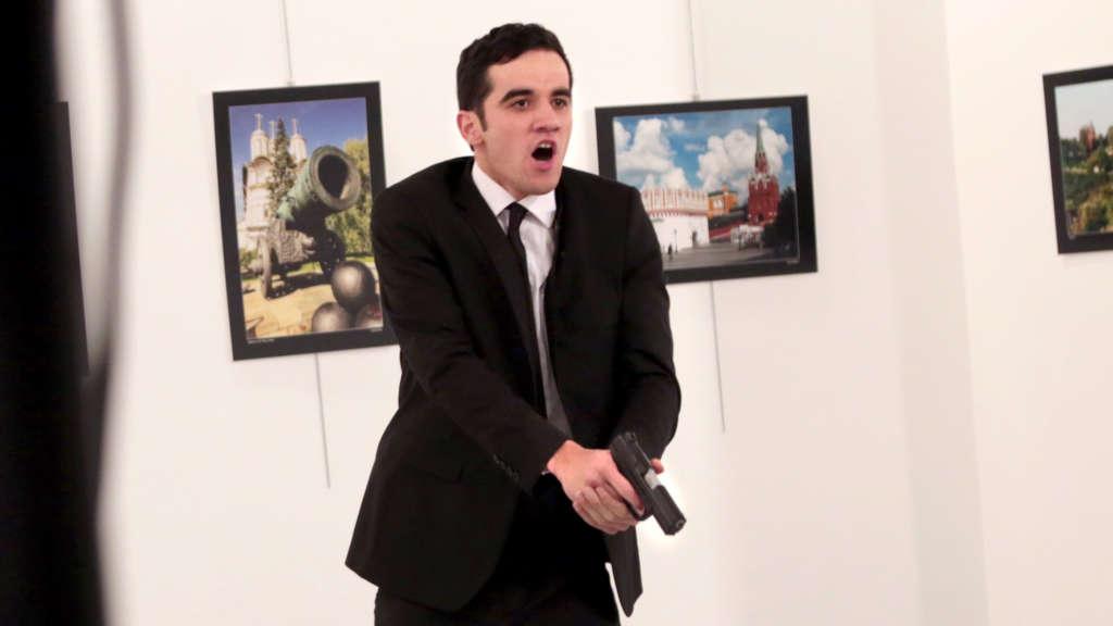 Turkish Police Officer Kills Russian Ambassador