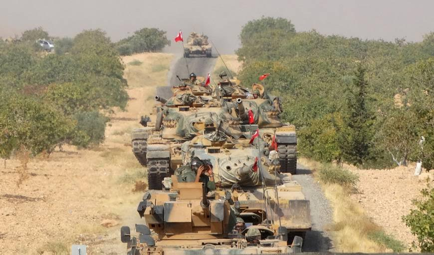 Kurds Near Euphrates Dam…Turkey Mobilizes