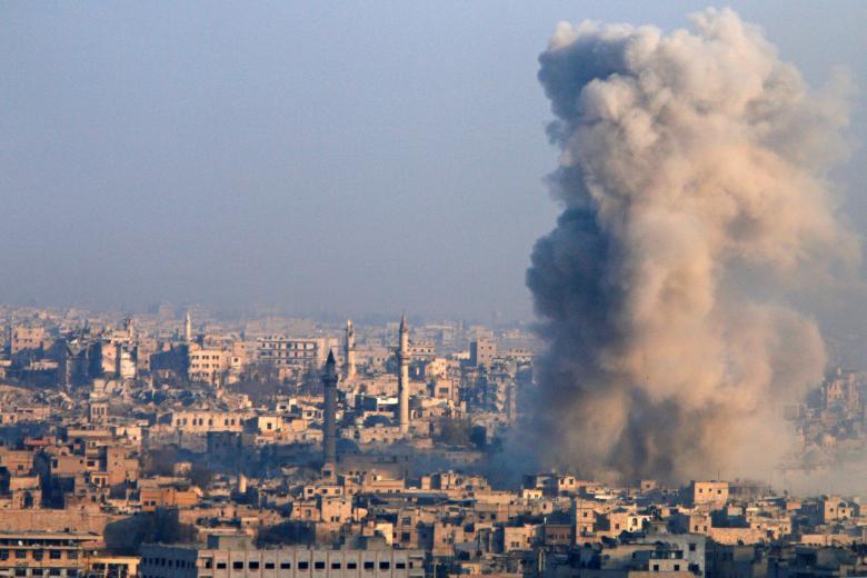 Syrian Regime, Iraqi Militia Reportedly Killing Aleppo Civilians