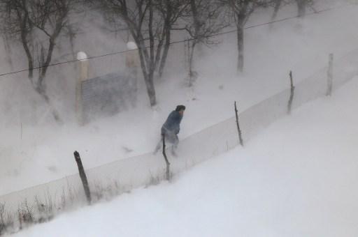 Winter Storm Batters Europe, Dozens Dead