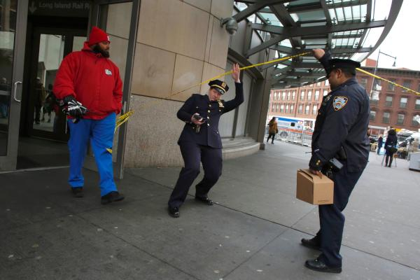 New York Train Crash Injures More Than 100 Commuters