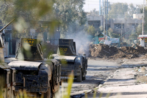 Iraqi Forces Advance Further into Northeast Mosul