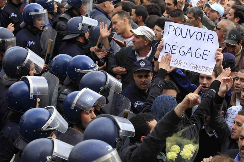 Fears on 'Arab Spring' Seeping into Algeria