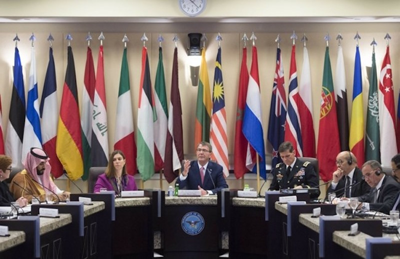 Global Coalition against ISIS's Chiefs of General Staff Meet in Saudi Arabia