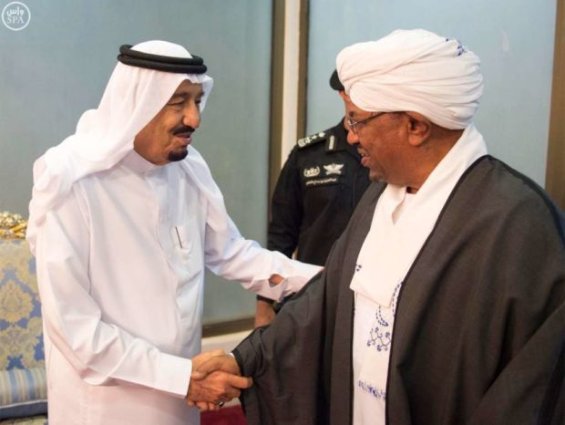 King Salman Congratulates Al-Bashir on Successful Surgery, Lifting U.S. Sanctions on Sudan