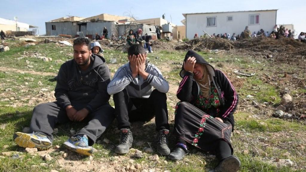 Israel Demolishes 15 Houses in Umm al-Hiran
