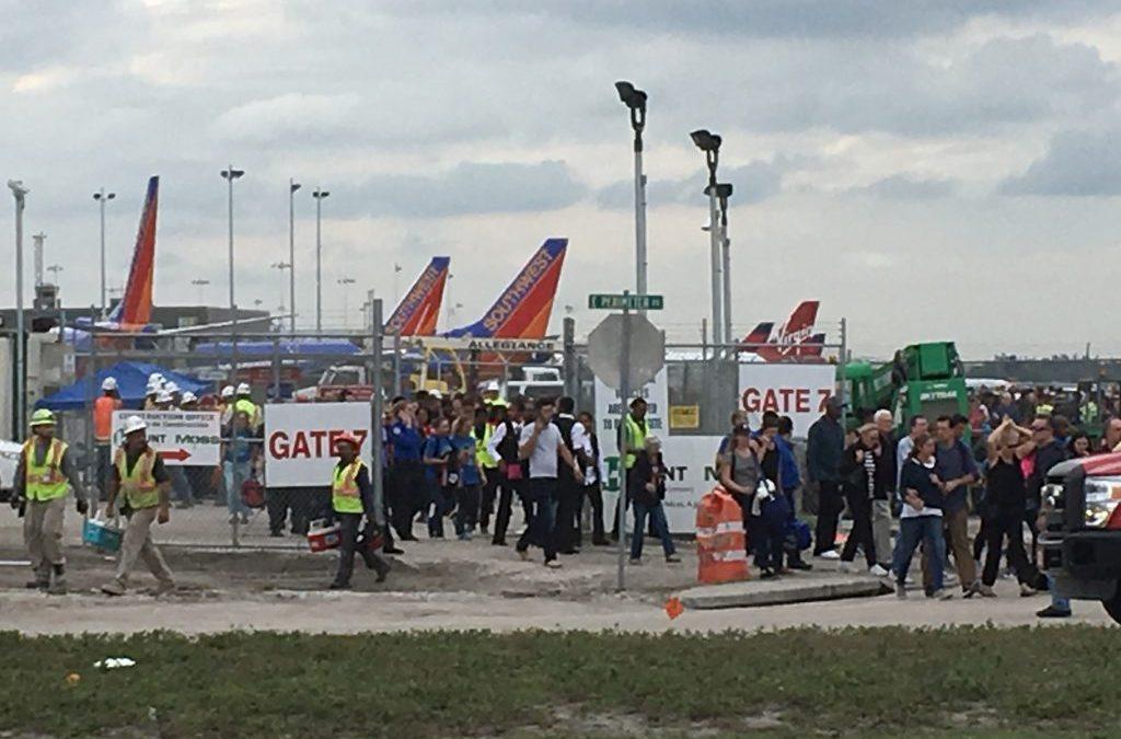 Gunman Targets Passengers in U.S. Airport