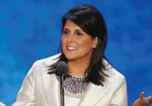 South Carolina Govenor Nikki Haley. Reuters