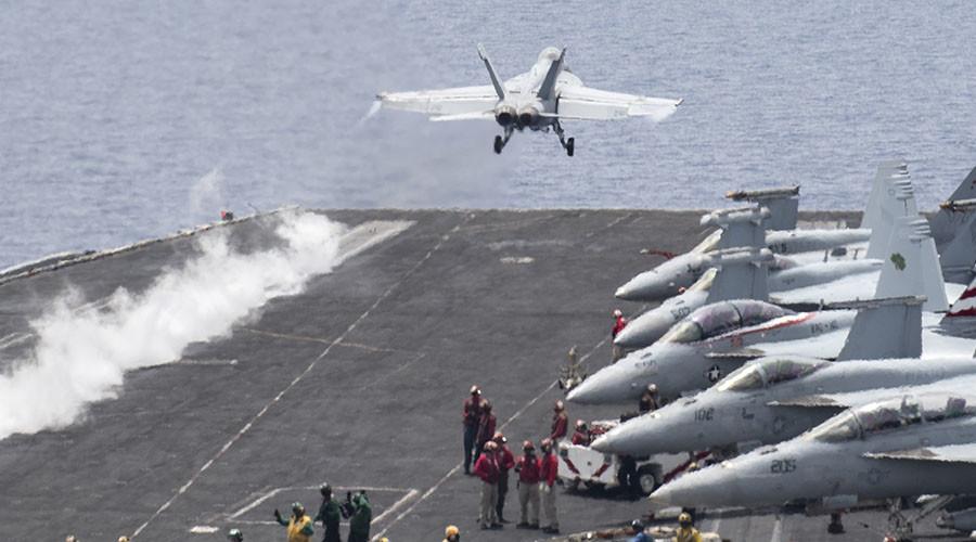 U.S. Drop-off Operations Target ISIS in Deir Ezzor