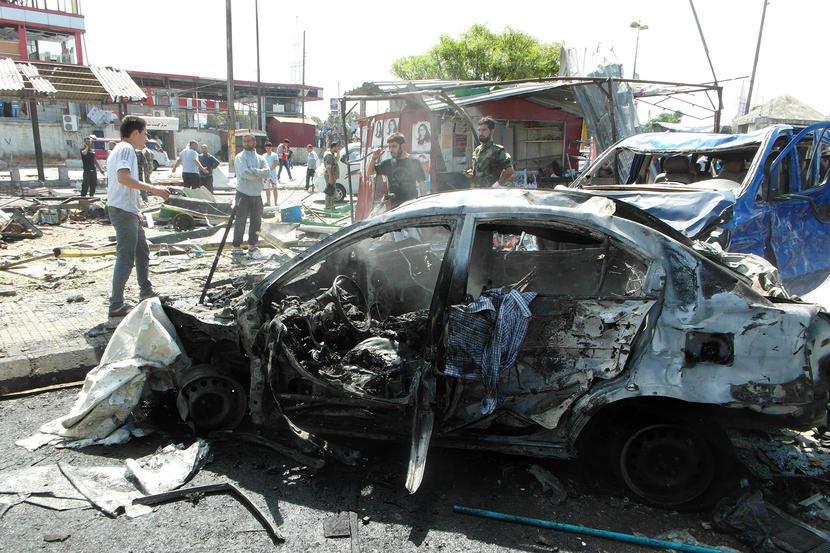 Suicide Bomber in Assad Regime Bastion