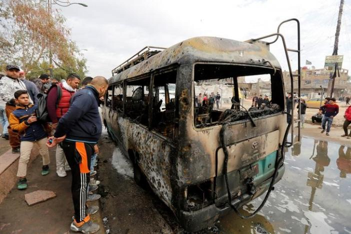 ISIS Suicide Bomber Kills 36 in Baghdad Market