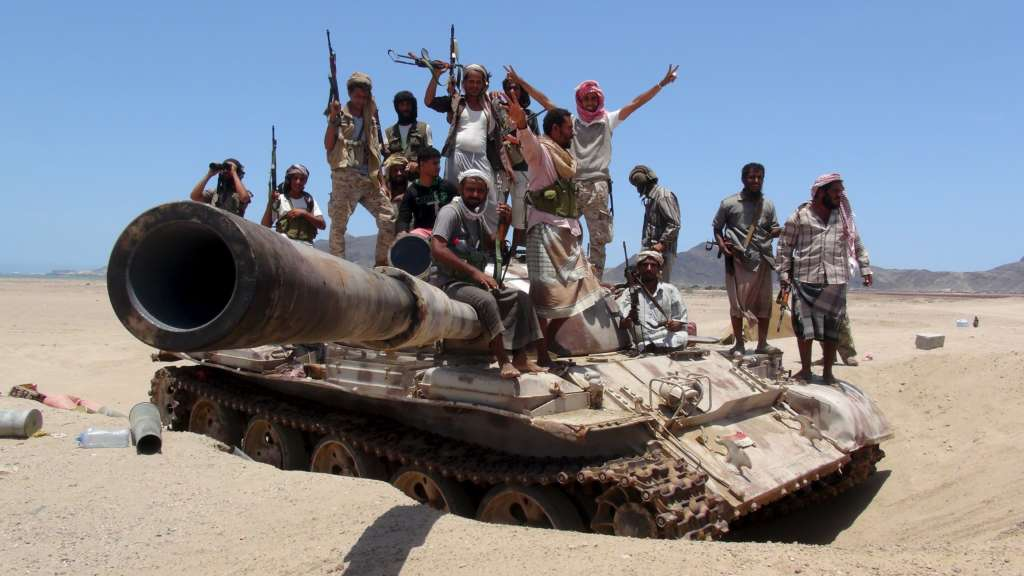 'Map of Control' in Yemen