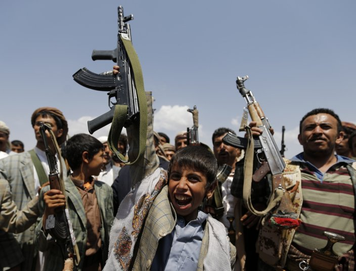 Saudi Embassy in Cairo: Houthis Violated International Laws by Recruiting Children
