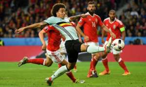 Axel Witsel, a current Belgium international, rejected the chance to go to Juventus and instead joined Tianjin Quanjian in China. Photograph: Matthias Hangst/Getty Images