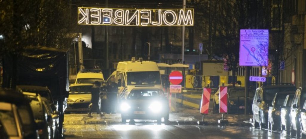 Belgian Police Raid Molenbeek District