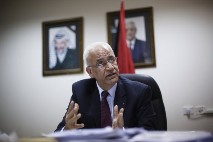 Erekat: Agreement to Form Joint Committees to Discuss Political, Security Topics