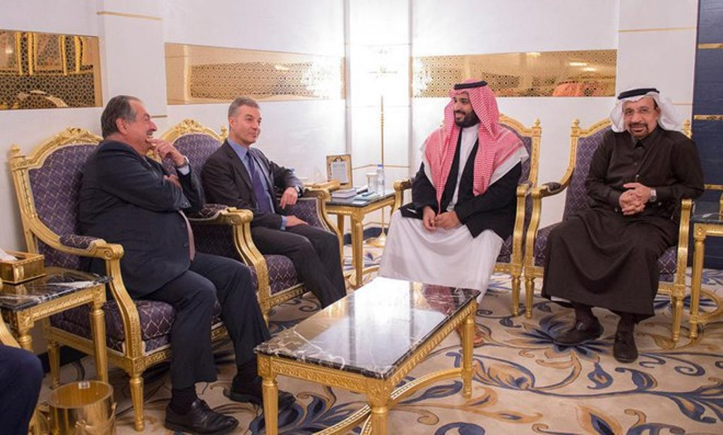 Deputy Crown Prince Chairs Meeting of Saudi Economic Affairs, Development Council
