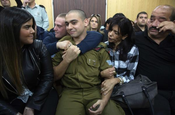 Israeli Soldier Convicted of Manslaughter after Shooting Wounded Palestinian
